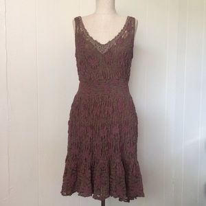 Free People Lace & Beaded Dress